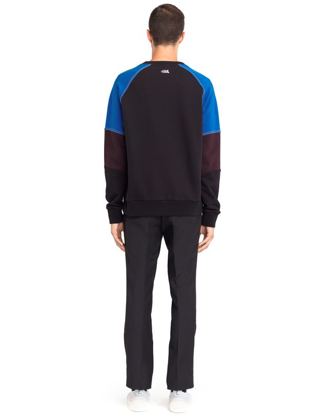 LANVIN COLOR-BLOCK SWEATSHIRT Knitwear & Sweaters U d
