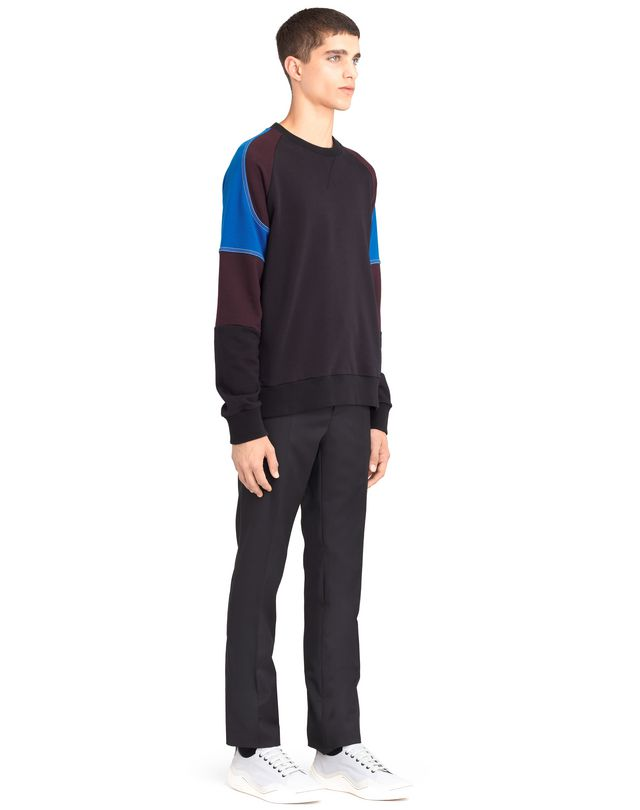 LANVIN COLOR-BLOCK SWEATSHIRT Knitwear & Sweaters U e