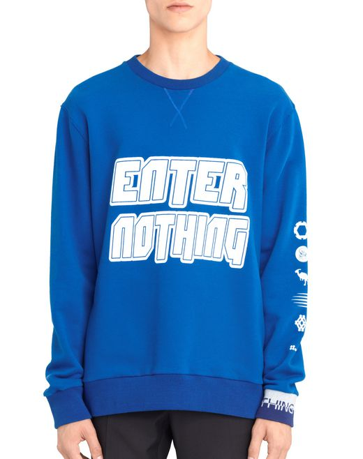"lanvin sweatshirt ""enter nothing"" für-ihn"