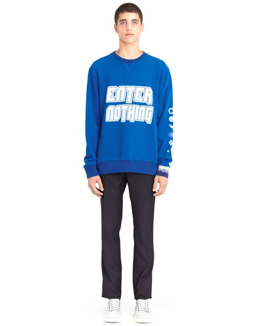 "lanvin ""enter nothing"" sweatshirt men"