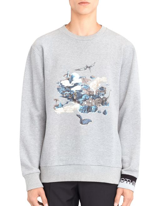 "SWEATSHIRT ""THE ISLAND"" - Lanvin"