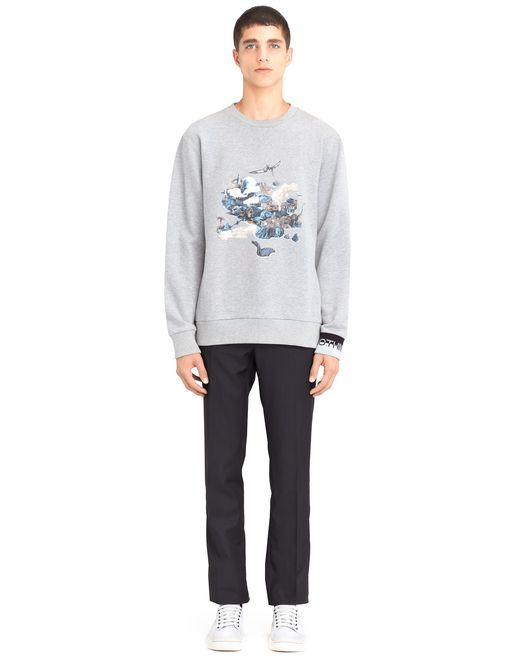"lanvin ""the island"" sweatshirt men"