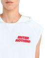 "LANVIN Knitwear & Sweaters Man ""ENTER NOTHING"" HOODIE f"
