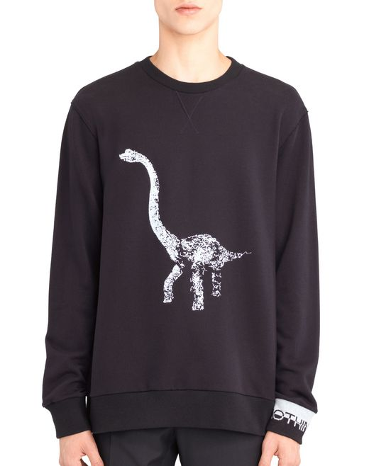 "lanvin ""diplo"" embroidered sweatshirt men"