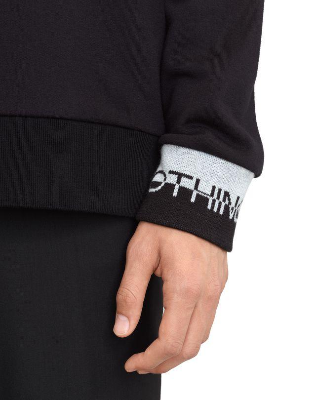 "LANVIN ""DIPLO"" EMBROIDERED SWEATSHIRT Knitwear & Sweaters U b"