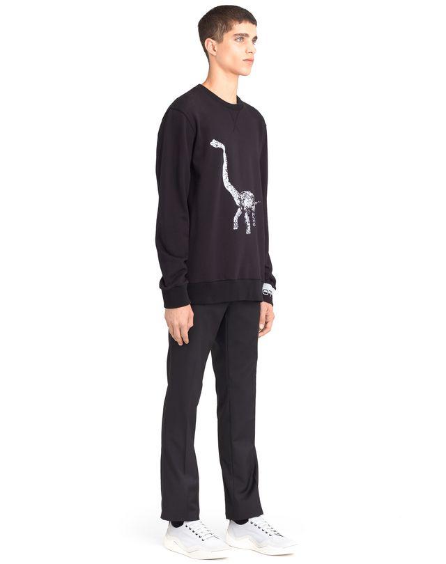 "LANVIN ""DIPLO"" EMBROIDERED SWEATSHIRT Knitwear & Sweaters U e"