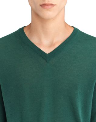 LANVIN V-NECK CASHMERE SWEATER Knitwear & Sweaters U a