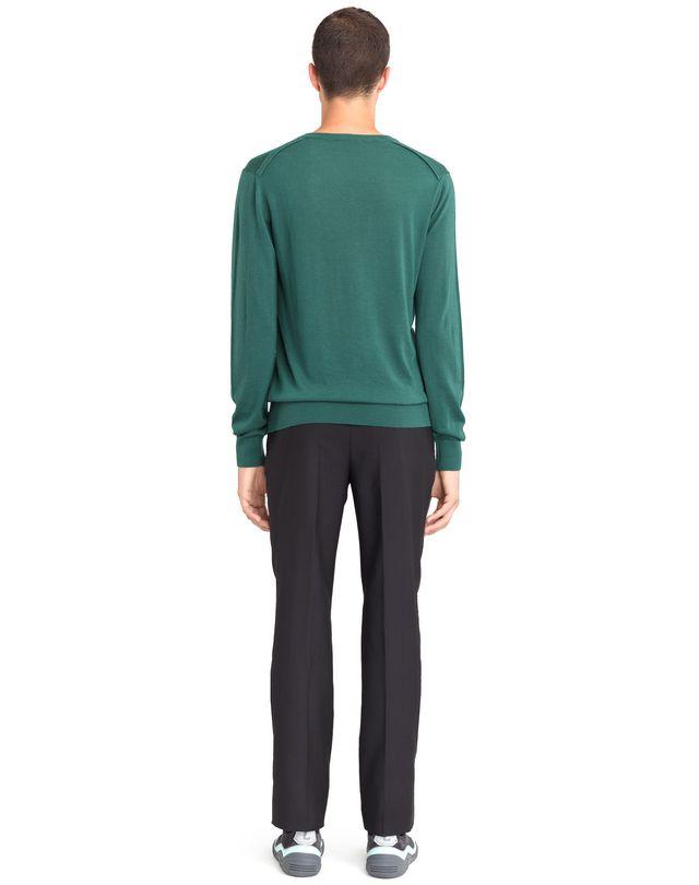 LANVIN V-NECK CASHMERE SWEATER Knitwear & Sweaters U d