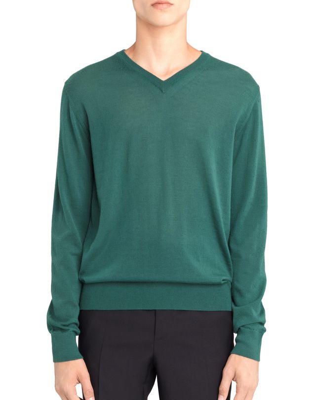 LANVIN V-NECK CASHMERE SWEATER Knitwear & Sweaters U f