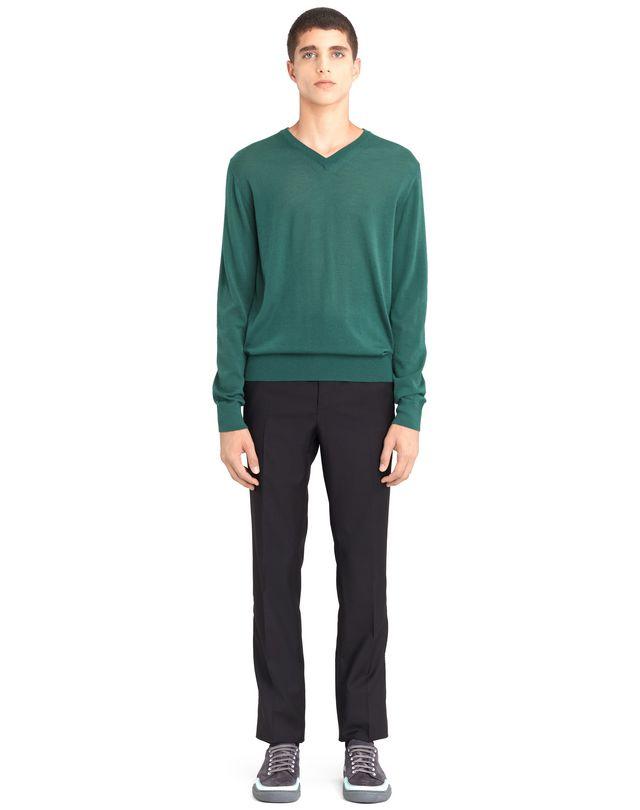 LANVIN V-NECK CASHMERE SWEATER Knitwear & Sweaters U r