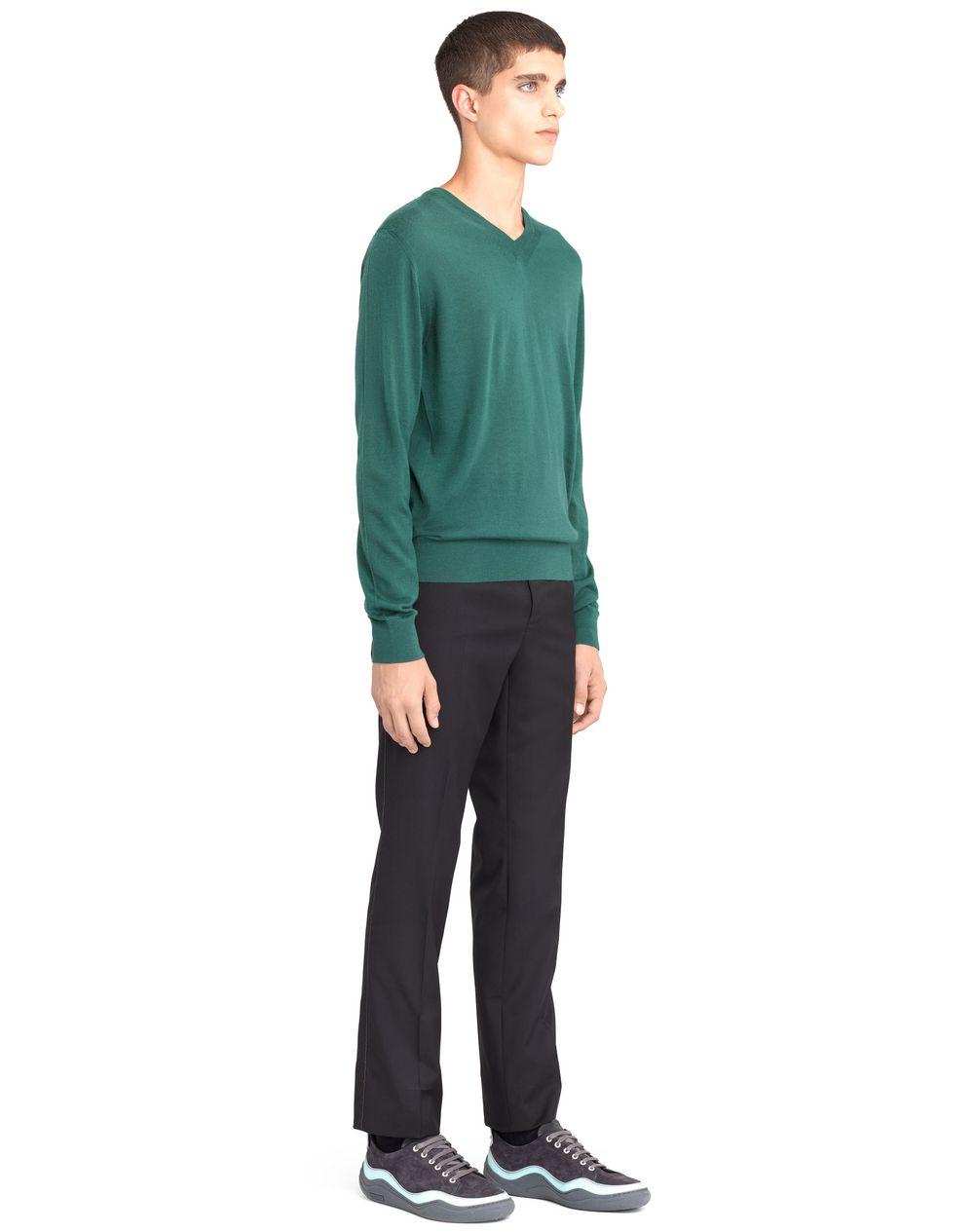 V-NECK CASHMERE SWEATER - Lanvin
