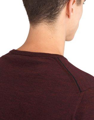 LANVIN CREW NECK JERSEY SWEATER Knitwear & Sweaters U b