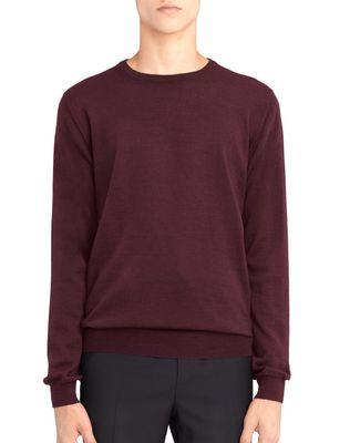 LANVIN CREW NECK JERSEY SWEATER Knitwear & Sweaters U f