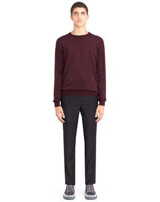 LANVIN CREW NECK JERSEY SWEATER Knitwear & Sweaters U r
