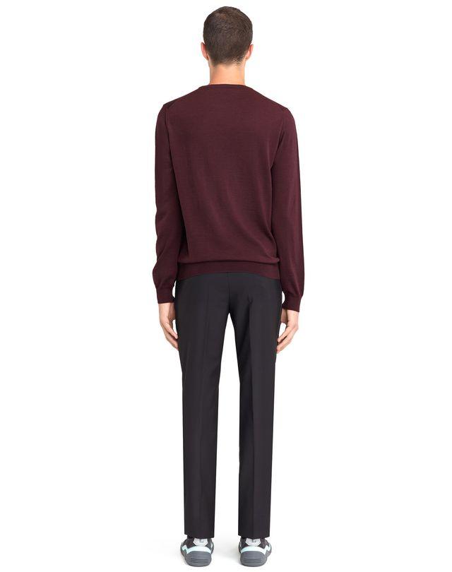 LANVIN CREW NECK JERSEY SWEATER Knitwear & Sweaters U d