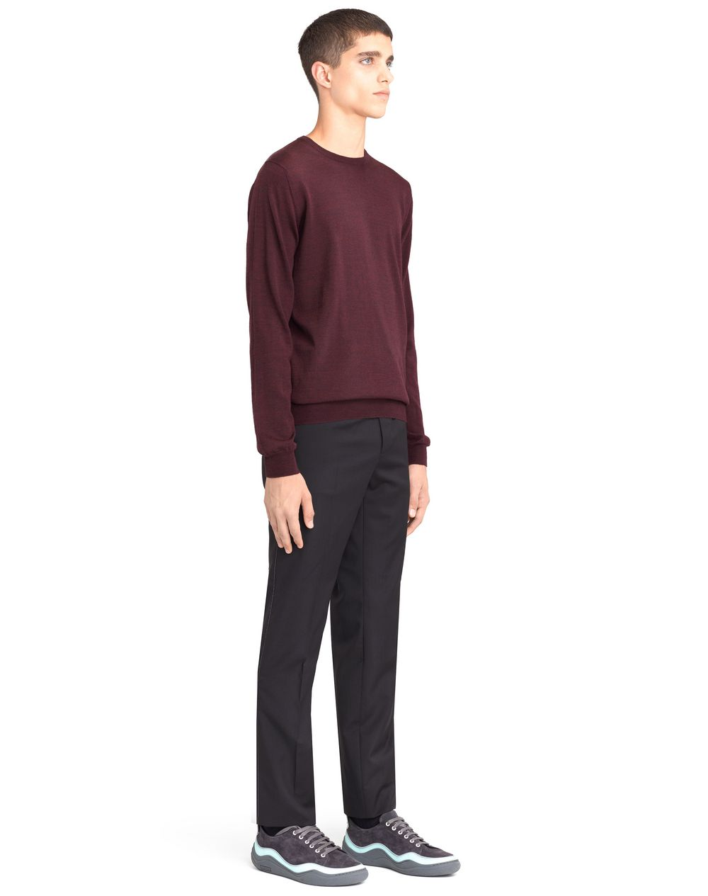 CREW NECK JERSEY SWEATER - Lanvin