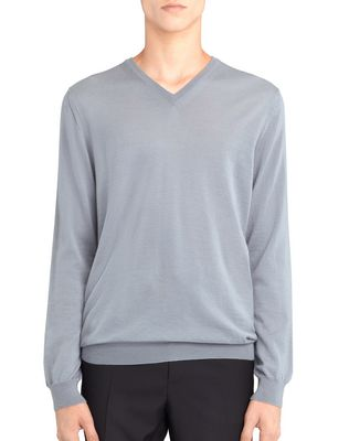 LANVIN Knitwear & Sweaters U CREW NECK CASHMERE SWEATER F