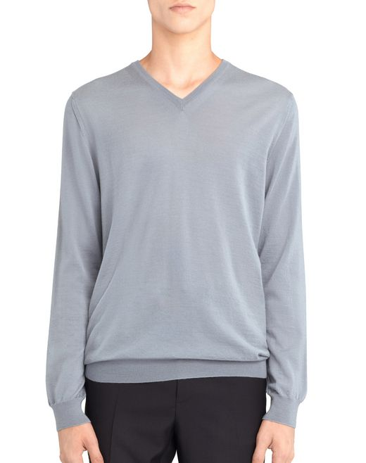 V-NECK JERSEY SWEATER - Lanvin
