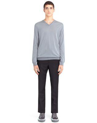 LANVIN V-NECK JERSEY SWEATER Knitwear & Sweaters U r