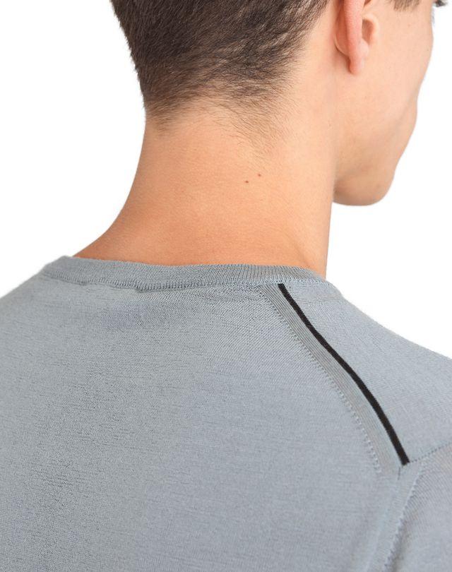 LANVIN V-NECK JERSEY SWEATER Knitwear & Sweaters U b