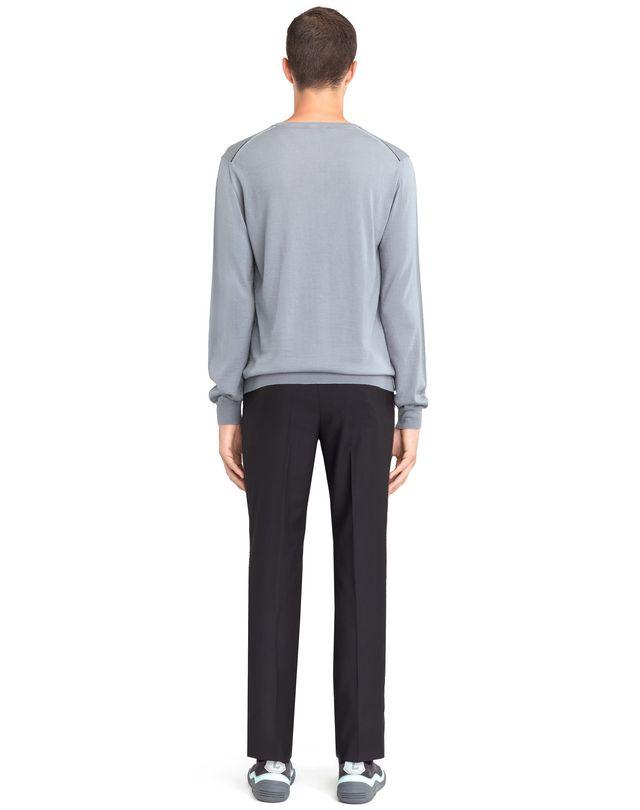 LANVIN V-NECK JERSEY SWEATER Knitwear & Sweaters U d