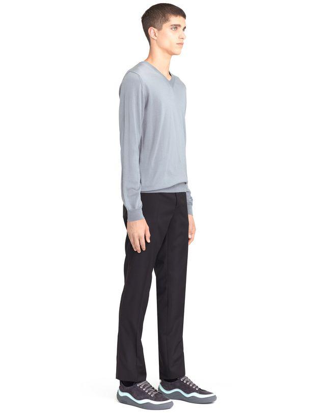 LANVIN V-NECK JERSEY SWEATER Knitwear & Sweaters U e