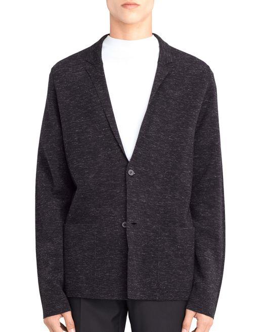 lanvin milano knit jacket men