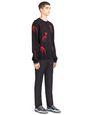 "LANVIN Knitwear & Sweaters Man ""DINO"" JACQUARD SWEATER f"