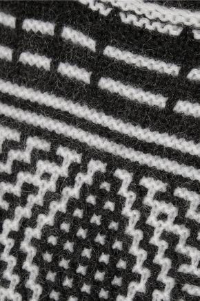 DUFFY Fair Isle merino wool-blend sweater