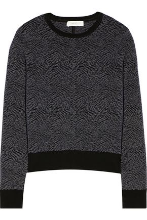 A.L.C. Edmonds jacquard-knit sweater