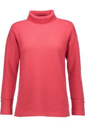 MAGASCHONI Waffle-knit cashmere turtleneck sweater