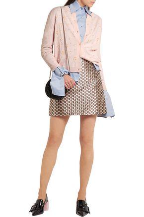 MIU MIU Embellished wool cardigan