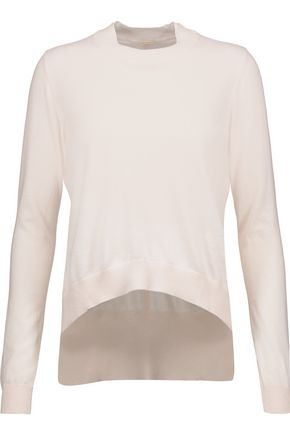ADAM LIPPES Cotton and cashmere-blend sweater