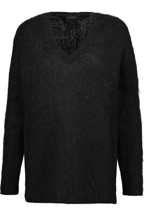BELSTAFF Brushed wool-blend sweater