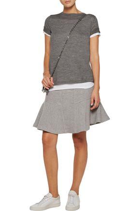 AUTUMN CASHMERE Pleated cashmere top