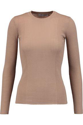 T by ALEXANDER WANG Ribbed merino wool sweater