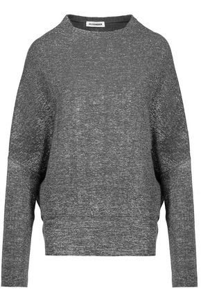 JIL SANDER Metallic wool-blend sweater