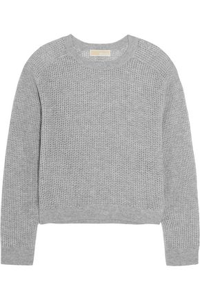 MICHAEL MICHAEL KORS Open-knit cashmere sweater