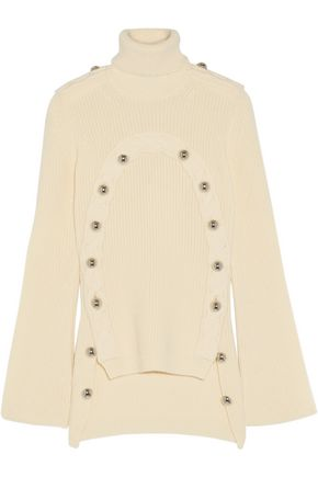 MONSE Embellished merino wool turtleneck sweater