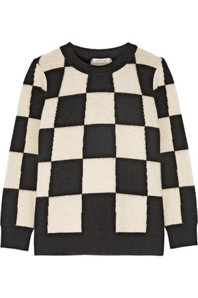 MARC JACOBS Checked cashmere sweater
