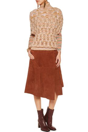 MISSONI Open-knit wool-blend sweater