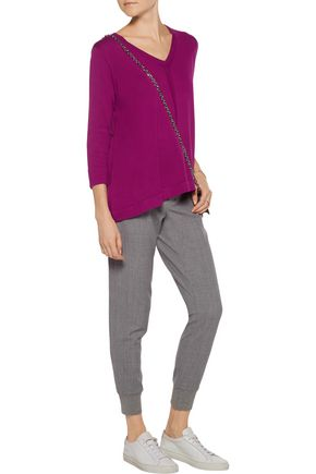 MAGASCHONI Pleated cotton sweater