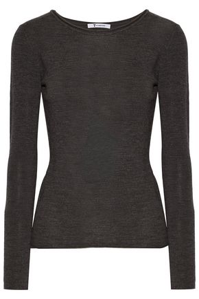 T by ALEXANDER WANG Merino wool sweater