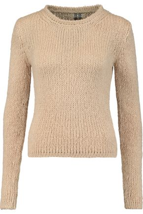 WOMAN SILK SWEATER BEIGE