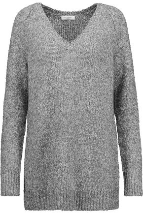 EQUIPMENT Marled stretch-knit sweater