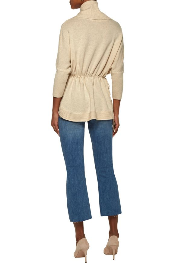 Gathered cashmere turtleneck sweater   DUFFY   Sale up to 70% off   THE  OUTNET