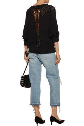 IRO Gage open-knit cotton sweater