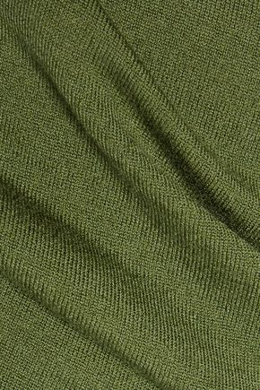 THEORY Agy wool-blend turtleneck top