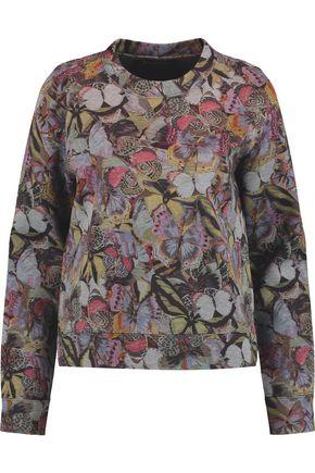 VALENTINO GARAVANI Printed cotton-jersey sweatshirt