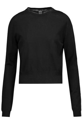 RICK OWENS Cotton sweater